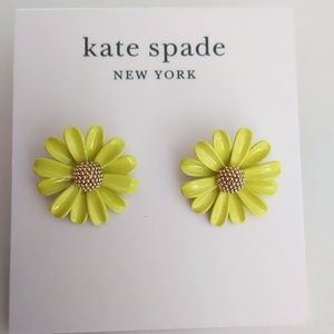 Kate Spade New Yellow Daisy Earrings